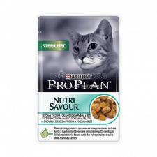 Консервы Purina Pro Plan для стерилизованных кошек и кастрированных котов, океаническая рыба в желе, пауч, 85 г