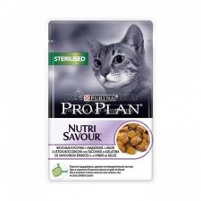 Консервы Purina Pro Plan для стерилизованных кошек и кастрированных котов, индейка, пауч, 85 г