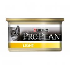 Консервы Purina Pro Plan для кошек с избыточным весом, индейка, банка, 85 г