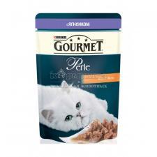 Консервы для кошек Purina Gourmet Perle, ягнёнок, пауч, 85 г