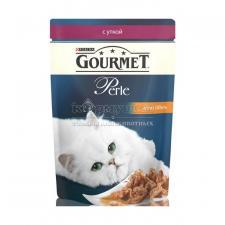 Консервы для кошек Purina Gourmet Perle, утка, пауч, 85 г