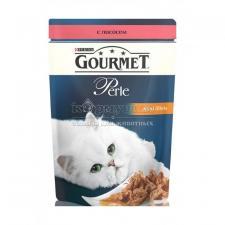 Консервы для кошек Purina Gourmet Perle, лосось, пауч, 85 г