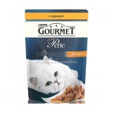 Консервы для кошек Purina Gourmet Perle, курица, пауч, 85 г