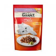 Консервы для кошек Purina Gourmet Mon Petit, ягнёнок, пауч, 50 г