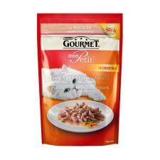 Консервы для кошек Purina Gourmet Mon Petit, лосось, пауч, 50 г