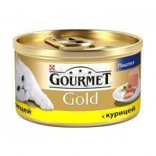 Консервы для кошек Purina Gourmet Gold, курица, банка, 85 г
