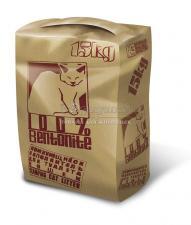 комкующийся наполнитель для туалета кошек 15 кг