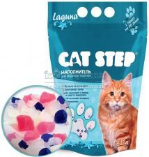 """Cat Step """"Лагуна"""" наполнитель силикагелевый"""