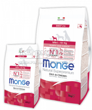 MONGE SUPERPREMIUM DOG MINI PUPPY & JUNIOR