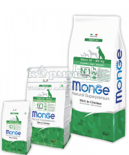 MONGE SUPERPREMIUM DOG MAXI PUPPY&JUNIOR