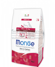MONGE SUPERPREMIUM DOG MINI SENIOR
