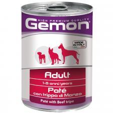Консервы для собак Gemon Dog паштет говяжий рубец 400г