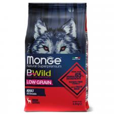 Monge Dog BWild LOW GRAIN (олень), 2.5 кг