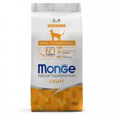 Monge Cat Speciality Light низкокалорийный (индейка), 1.5 кг