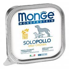 Monge Dog Monoprotein Solo паштет (курица), 150 г