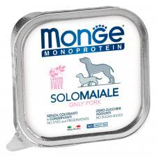 Monge Dog Monoprotein Solo паштет (свинина), 100 г