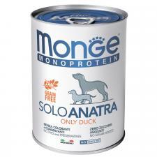 Monge Dog Monoprotein Solo паштет (утка)