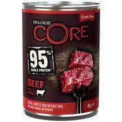Консервы  Wellness Core для взрослых собак из говядины с брокколи