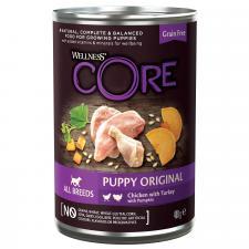 Консервы для щенков Wellness  CORE 95 из курицы с индейкой и тыквой