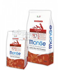 MONGE SPECIALITY LINE ALL BREEDS ADULT LAMB, RICE AND POTATOES