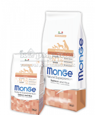 MONGE SPECIALITY LINE ALL BREEDS ADULT SALMONE AND RICE