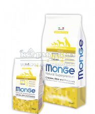 MONGE SPECIALITY LINE ALL BREEDS ADULT CHICKEN, RICE & POTATOES