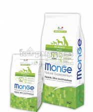 MONGE SPECIALITY LINE ALL BREEDS ADULT RABBIT, RICE & POTATOES