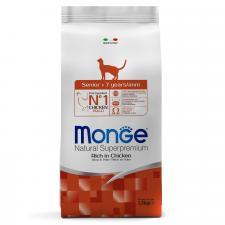 Monge Cat Senior (курица), 1.5 кг