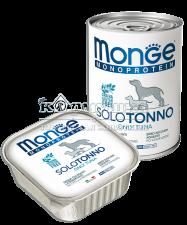 Монобелковый паштет для собак из стейковой части свежего мяса атлантического тунца.