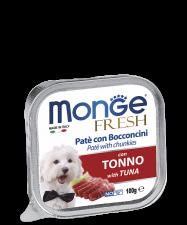 Полнорационный корм для собак. Паштет из мяса тунца.