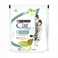 Сухой корм Purina Cat Chow для стерилизованных кошек и кастрированных котов, домашняя птица, пакет
