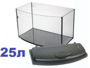 """Аквариум с крышкой """"Прямоугольный Телевизор"""""""