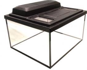 Террариум  прямоугольный с крышкой 25 литров