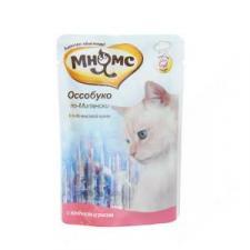 Влажный корм для кошек Мнямс, оссобуко по-милански, 85 гр.