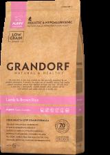 GRANDORF Ягненок с рисом для щенков всех пород