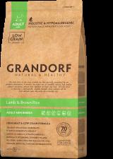 GRANDORF Ягненок с рисом для взрослых собак мини пород