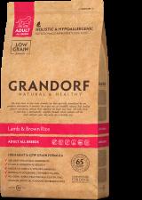 GRANDORF Ягненок с рисом для взрослых собак средних пород