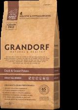 GRANDORF Утка с бататом для взрослых собак всех пород беззерновой